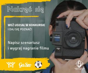 """Konkurs """"Nakręć się"""" - edycja 2019"""
