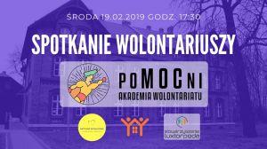 """Spotkanie dla wolontariuszy Akademii """"poMOCni"""""""