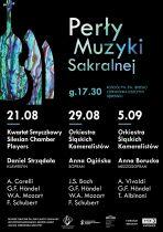 """Cykl koncertów pn. """"Perły Muzyki Sakralnej"""""""