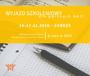Szkolenie wyjazdowe dla czerwieńskich NGO